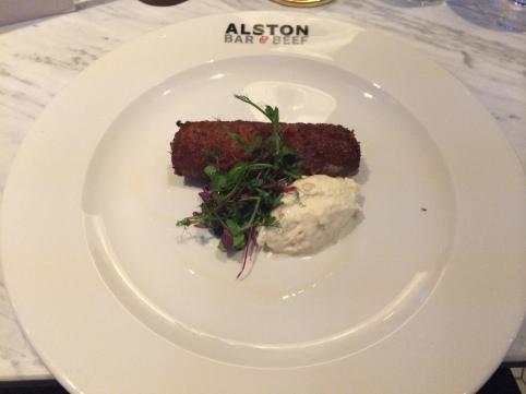 Alston Bar & Beef croquette