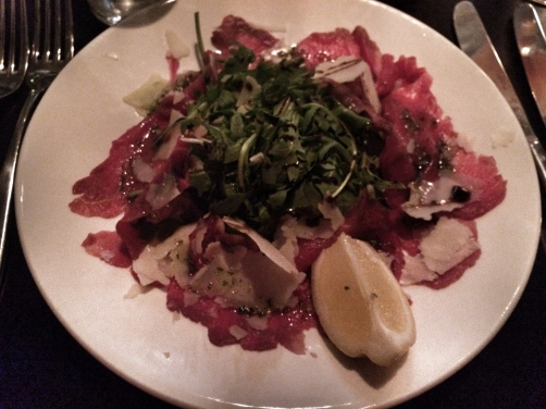 amarone - carpaccio