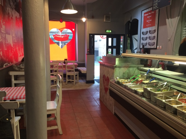 Nics Deli Hope Street Interior Feb 2015