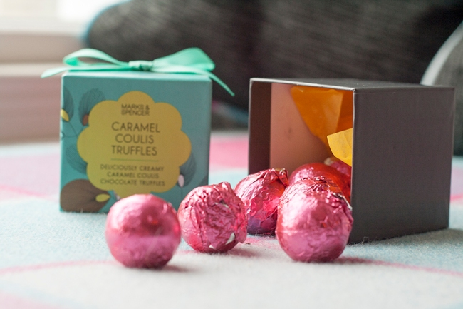 Mother Day M&S truffles