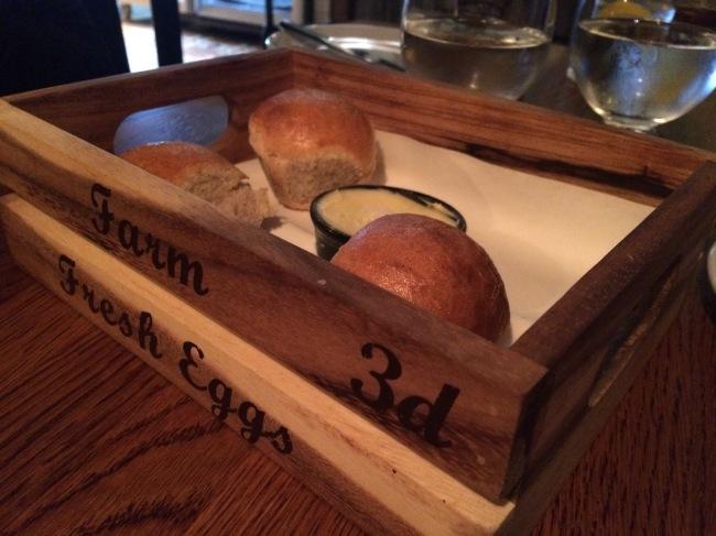 Porter & Rye March 2015 - bread rolls