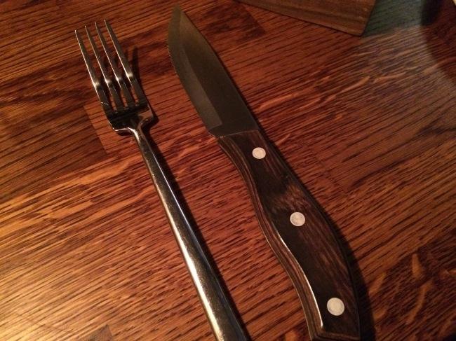 Porter & Rye March 2015 - steak dagger
