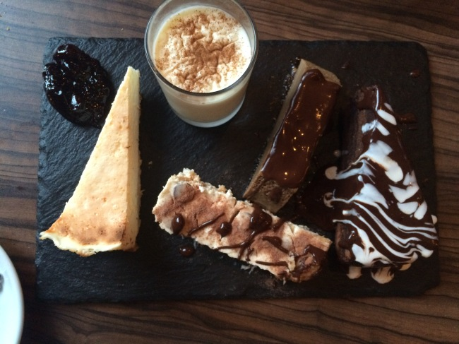 Dessert Cubatas April 2015