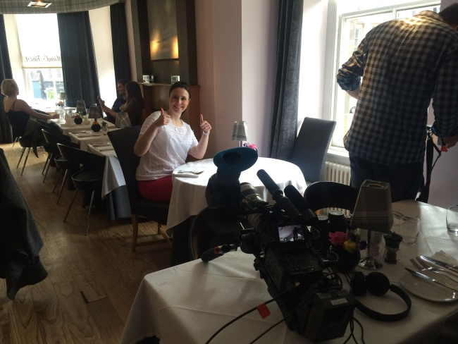 GlasgowDragonFly ready for her close up The Foodie List Glasgow