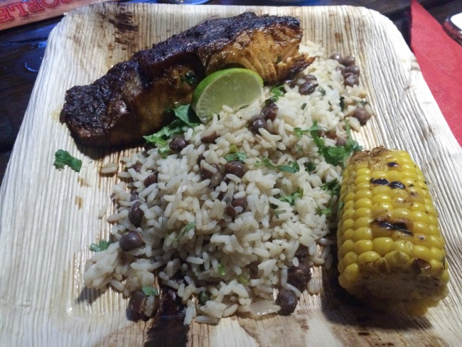 Jerk Fish The Rum Shack April 2015