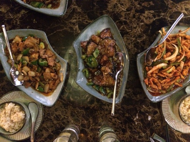 Dishes - Sichuan House April 2015