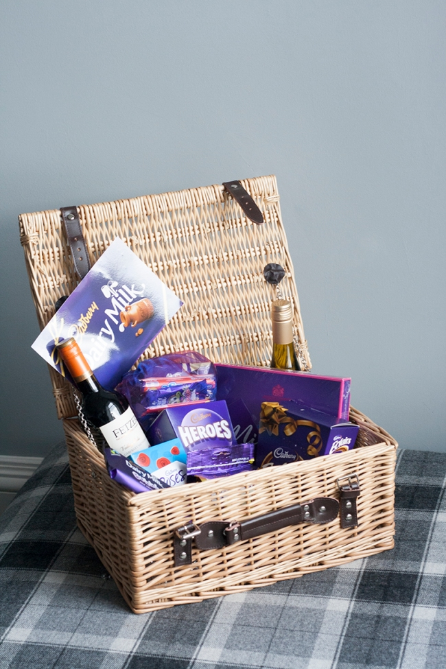 Basket Cadburys Hamper