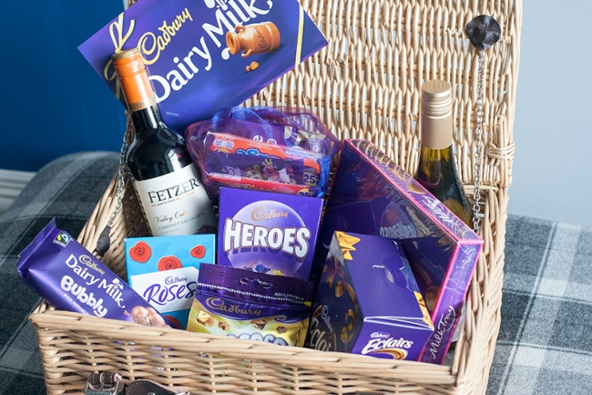Contents Cadburys Hamper