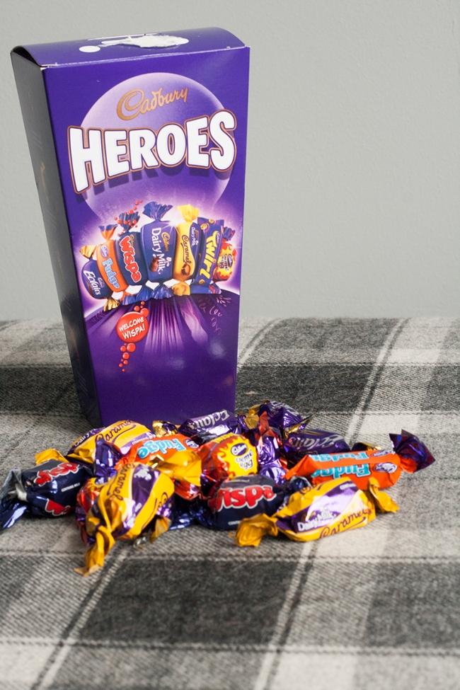 heroes Cadbury Hamper