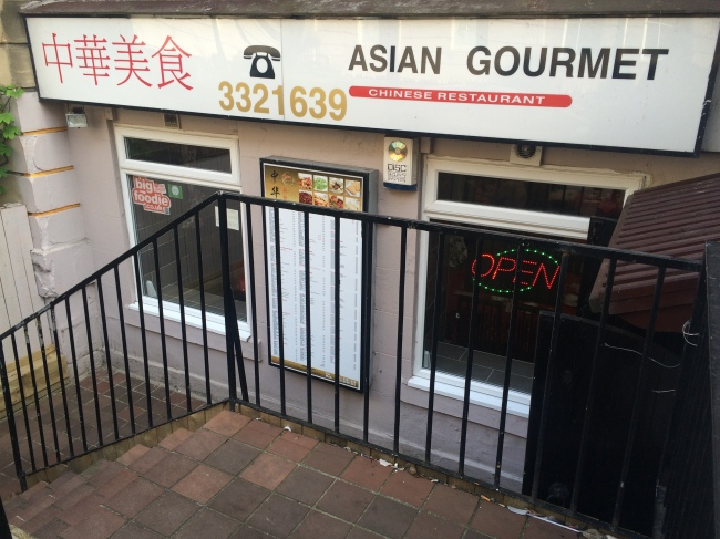 Outside - Asian Gourmet July 2015