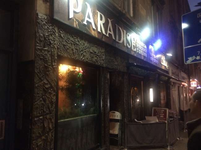 Paradise Glasgow Review