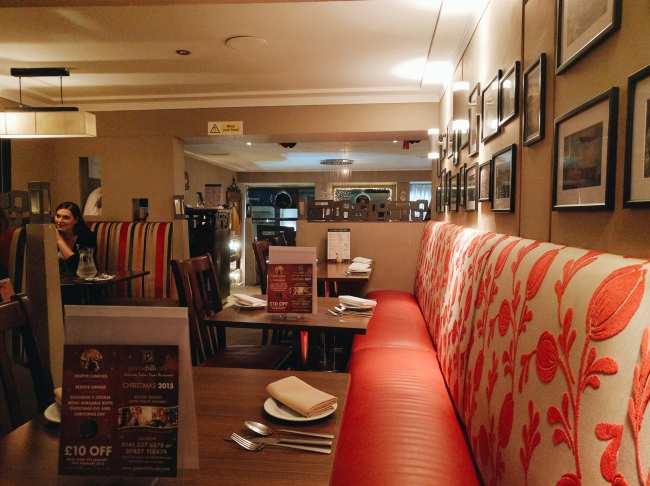 Green Chilli Glasgow Review
