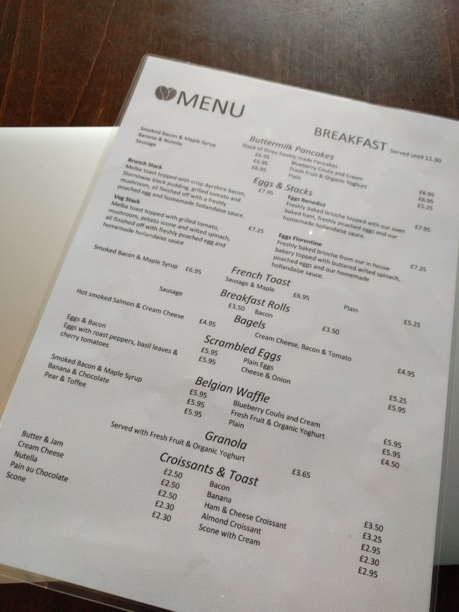 Montgomerys Cafe Glasgow Brunch Review