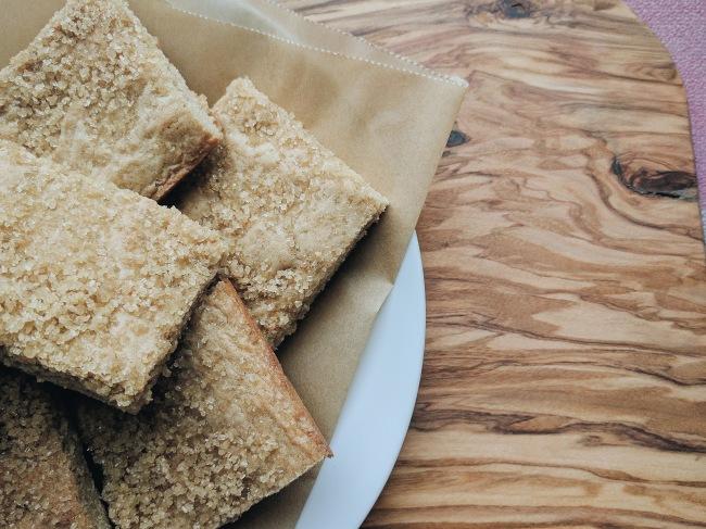 Smoked Sugar Biscuit Bars Recipe
